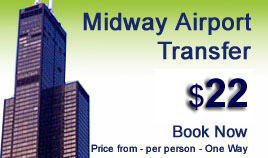 Midway airport shuttle service
